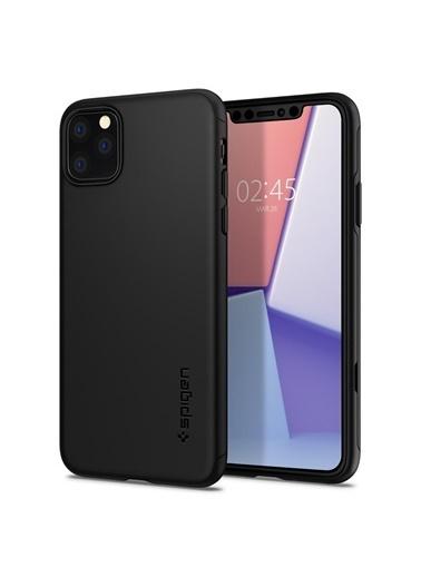 Spigen iPhone 11 Pro Kılıf, Thin Fit Classic Black Renkli